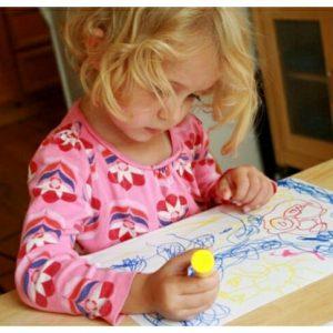 toddler art box