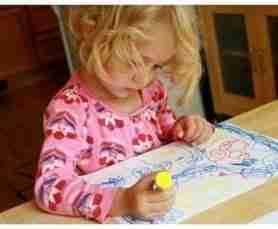 Rent a toddler art box