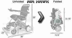 Rent a Folding Power Wheelchair